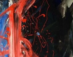 "Check out new work on my @Behance portfolio: ""Abstract Painting with Blue, Black and Red"" http://on.be.net/1KVG9Hl"