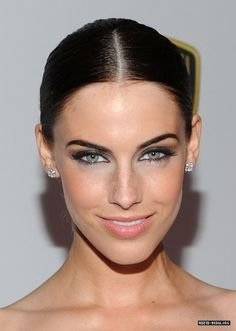 Jessica Lowndes   possible ana steele ? or is her face too long?