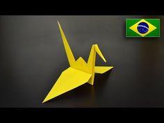 Origami: Tsuru - Instruções em Português BR - YouTube