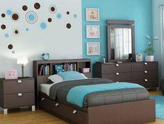 Color Turquesa En El Interior De Un Dormitorio - http://www.decoracion2014.com/ideas-de-decoracion/color-turquesa-en-el-interior-de-un-dormitorio/