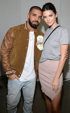 Kendall Jenner & Drake from The Big Picture: Today's Hot Pics  The two attend Kanye West's show at New York Fashion Week together.