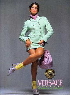 Versace Fall/Wint 1994 - Stephanie Seymour by Richard Avedon
