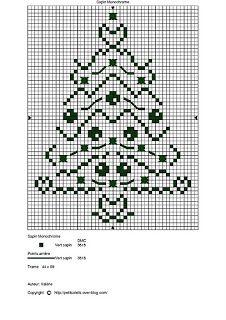 Green Xmas tree - I would add beading for the decorations on the tree Xmas Cross Stitch, Cross Stitch Cards, Cross Stitching, Cross Stitch Embroidery, Cross Stitch Designs, Cross Stitch Patterns, Free Cross Stitch Charts, Tatting Patterns, Christmas Cross