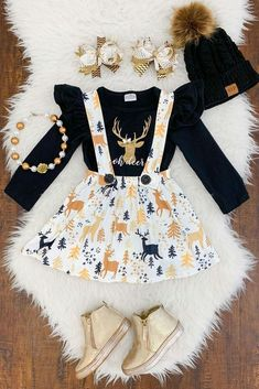 Toddler Fall Outfits Girl, Little Girl Outfits, Cute Girl Outfits, Kids Outfits Girls, Little Girl Fashion, Toddler Fashion, Kids Fashion, Baby Outfits, Skirt Outfits