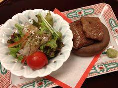 Traditional Japanese festive dinner