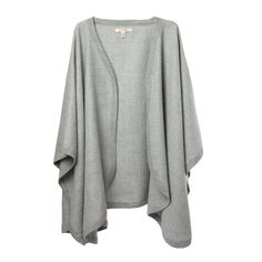If ever there were a perfect layering piece, this super-soft baby alpaca cape is…