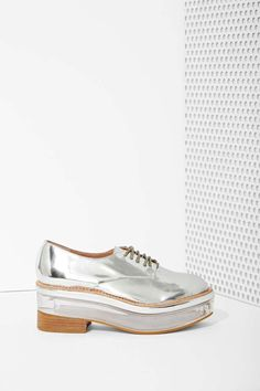 Jeffrey Campbell Perplex Box Leather Platform at Nasty Gal