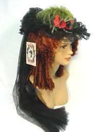 Image result for victorian bonnets Victorian Hats, Winter Hats