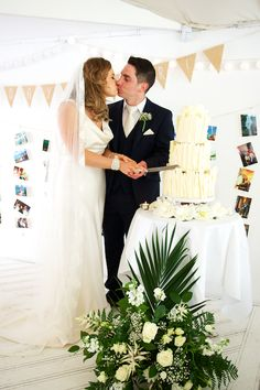 The Millhouse Slane by The Fennells Photography and Film Husband and wife team Mark & Fiona Fennell Real Weddings, Wedding Cakes, Husband, Wedding Photography, Table Decorations, Film, Couples, Wedding Dresses, Fashion