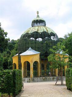 pavilion in the Tiergarten at #Schoenbrunn Palace, #Vienna