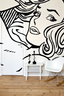 How To Use a Projector to Paint Your Own Wall Mural DIY
