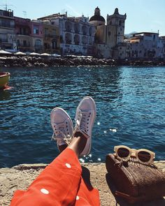 "65.5k Likes, 294 Comments - JULIE SARIÑANA (@sincerelyjules) on Instagram: ""Feet up! ☀️ /  @soludos sneakers #adventurebeautifully"""