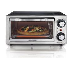 Toaster Oven 4 Slice Stainless Steel Reheating Precooked Frozen Chicken Nuggets #OvensHome