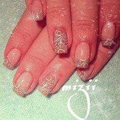 Beige  by Mizii - Nail Art Gallery nailartgallery.nailsmag.com by Nails Magazine www.nailsmag.com #nailart