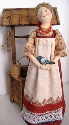 Кукла Голубка
