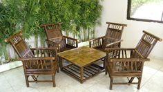 Cuidados y limpieza de los muebles y piezas de bambú