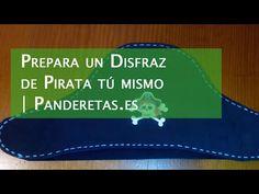 Prepara un disfraz de pirata tú mismo | Panderetas.es