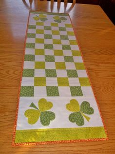 Simply Beautiful Irish Table Runner by YoureSewLoved on Etsy