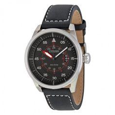 Citizen Avion Dark Grey Dial Men's Watch AW1361-10H - Avion - Citizen - Shop Watches by Brand - Jomashop