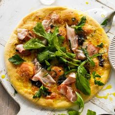 Porcini & Speck.  Breville Pizza Recipe Cookbook