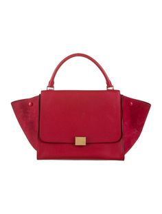 5a6e6bc9ee Céline Medium Trapeze Bag. Celine HandbagsTote HandbagsRed BagsLeather ...