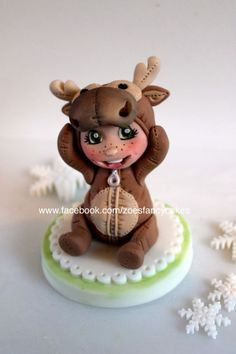 ~Christmas cake topper - by Zoe's Fancy Cakes!~