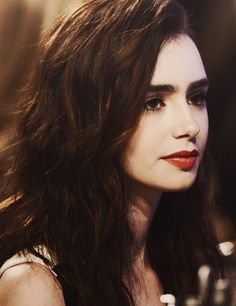 Lily Collins is a total babe.