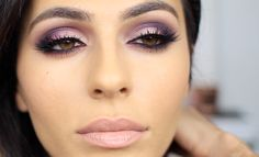 Fall makeup calls for purple eyeshadow! Here's my take on a purple and pink smoky eye: It's vibrant and colorful but still pretty subtle. Enjoy!! And don't f...