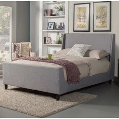 Found it at Joss & Main - Marcano Upholstered Platform Bed