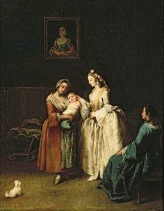 The Wet-Nurse, Pietro Longhi (c.1701-85)