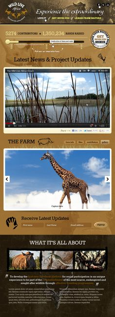 Wild Live Africa | Facebook App