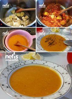 Mercimek Çorbası Tarifi       1 su bardağı kırmızı mercimek     6 su bardağı kaynar su     1 yemek kaşığı salça     1 orta boy soğan     1 orta boy patates     3 yemek kaşığı sıvı yağ     Tuz – pulbiber – kuru nane