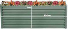 200cm WIDTH x 55cm DEPTH x 72cm HEIGHT WILDERNESS COLOUR TALL HEIGHT Brisbane, Melbourne, Sydney, Raised Garden Beds, Be Perfect, Wilderness, Diys, Colours, Outdoor Decor