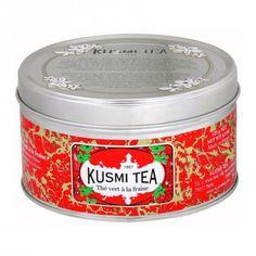 Grüner Tee Erdbeere