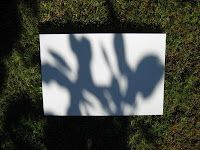 2/3/4 shadow tracing outside  positive negative space and colors warm/cool or contrasting or complimentary  TeachKidsArt