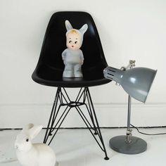 #lampe #lapin #ilovemykids Lampe Lapin gris - I LOVE MY KIDS - CADEAUX & ACCESSOIRES POUR LES KIDS