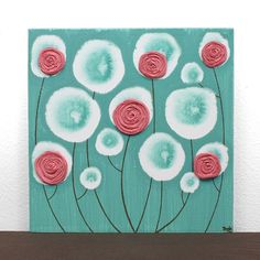 Love this shade of pink with teal