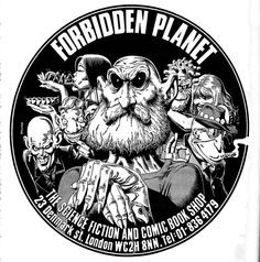 Forbidden Planet (Bolland) - classic! Spent a lot of the early 80s in here!