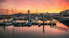 Morocco - Rabat Salé - Twilight on the Marina by Amine Fassi on 500px