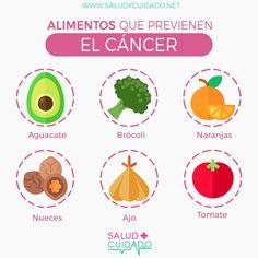 TOP ALIMENTOS QUE AYUDAN A PREVENIR EL CÁNCER ¡Compártelo ya! Haz clic en la imagen y mira todos los beneficios y todos los alimentos que más ayudan a prevenir el #cancer #infografias #salud #beneficios #saludycuidado #saludable #alimentos #propiedades #alimentacion #infografia