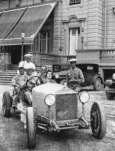 Enzo Ferrari e Alfa Romeo .