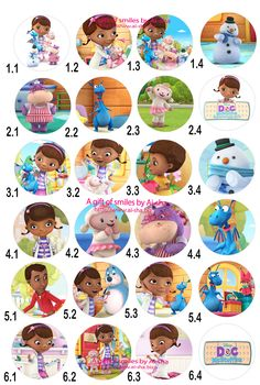 doc mcstuffin birthday cakes   Edible Image DOC Mcstuffins Cake   Cupcake Images Printing by Aisha ...