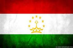 Tajikistan was the last of the former Soviet states to reveal it's new flag: November 1992. The colors and strips allude to the country's Persian culture, the green representing Islam and generosity, the white purity, snow, cotton, and unity, and read both unity, the sun, and victory. The crown represents the people and the seven stars allude to a Tajik legend about heaven being comprised of seven orchids separated by seven mountains each with a star on top.