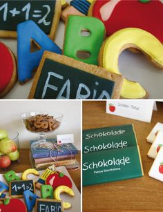 """sweet candy table: """"einschulung"""" 
