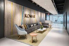 Komar Brands Headquarters. Site: Jersey City, New Jersey.