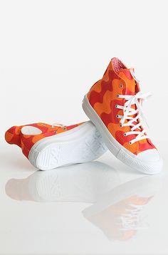 Converse All Star Premium High Marimekko kengät Pink/Orange 69,90 € www.dropinmarket.com