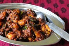 Prawn Masala / Spicy Prawn Masala / Shrimp Masala / Masala Shrimp - Yummy Tummy Prawns Fry, Spicy Prawns, Prawn Dishes, Veg Dishes, Fish Recipes, Seafood Recipes, Cooking Recipes, Salads