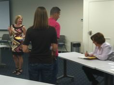 Constant Contact Engagement Marketing book signing!