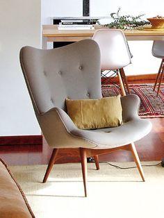 West elm book nook armchair
