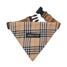 Brown Checked Tartan Bandana Patterned Dog Harnesses at Urban Pup Tartan, Boutique Fashion, Silly Dogs, Dog Jewelry, Dog Bandana, Pet Clothes, Dog Clothing, Dog Coats, Dog Harness